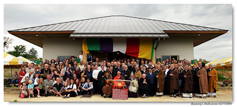 Buddha Hall Dedication June 27, 2004